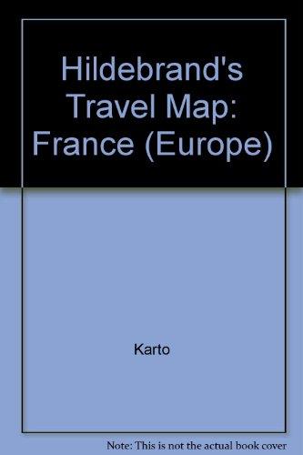 Hildebrand's Urlaubskarten; Hildebrand's Travel Maps, Nr.68, Frankreich (Europe)