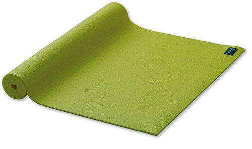 Yogamatte Studio extrabreit Gymnastikmatte grün Pilatesmatte 80x183cm