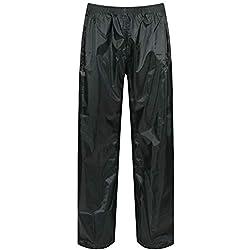 Regatta Stormbreak Pantalón Para Hombre Impermeable Verde Aceituna Oscura