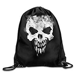 Hats New Unisex Skull Basics Classic Lightweight Drawstring Gym Sackpack Backpack For Hiking Swimming Yoga