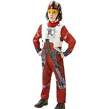 erdbeerloft–joven Star Wars X-Wing Fighter Carnaval Disfraz, 122–164, multicolor