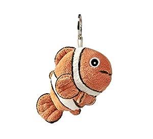 Anima Doo- Llavero con diseño de pez Clown Doo de Peluche (10 cm), Color Naranja