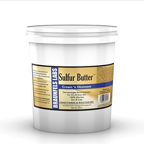 32 Oz Creme (Quart 32 Oz . - Sulfur Butter Creme 'n Ointment by Sulfur Butter)