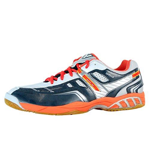 Victor Slim SH-910, Unisex - Erwachsene Sportschuhe - Squash & Badminton, Mehrfarbig, EU 40 (Schuhe Blue Erwachsenen-california)