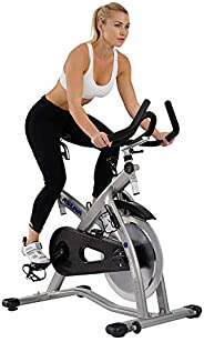 Sunny Health & Fitness Unisex Adult 7100 Asuna Sabre Magnetic Commercial Indoor Cycling Bike - Black, One
