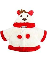 Ropa de Abrigo, ❤️ Zolimx Bebé Niños Niñas Navidad Disfraz Ciervo con Capucha Capa Bata Ropa Bebe Recien Nacido Otoño Invierno