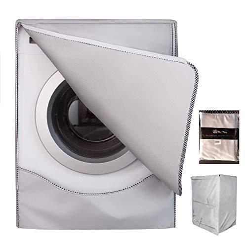 Mr.You Copertura Lavatrice per Esterno per Le lavatrici & Asciugatrice Coprilavatrice di Spessore Migliore Performance di Crema Solare Anti-ultravioletti Impermeabile Antipolvere(XL,Tele Standard)