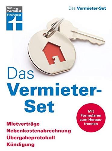 Das Vermieter-Set - Mietverträge, Nebenkostenabrrechnung, Übergabeprotokoll, Kündigung - Ihre Rechte als Vermieter - Alle relevanten Formulare (Immobilien-vermieter)