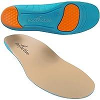 FootActive flsens, FootActive Sensi - Einlegesohlen für empfindliche Füße - Eine Wohltat für Fersen und Fußballen! GR. 39-41 (S)