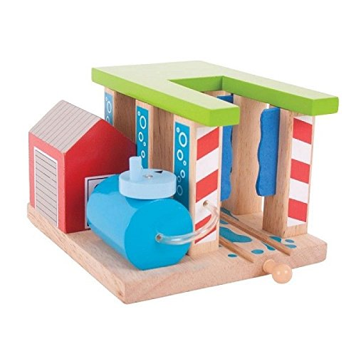 Bigjigs Rail Station de Lavage de Trains