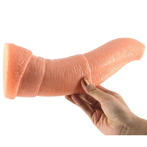 Elefanten Nase Dildo mit Anal Dildo Gesundheitswesen Silikon Material Gesundheitswesen Sex Spielzeug-25cm,Flesh color - 7