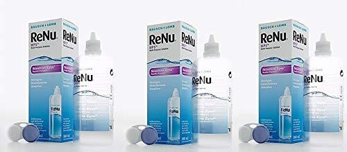 Bausch & Lomb ReNu MPS Sensitive Eyes Pflegemittel für weiche Kontaktlinsen 3 x 120ml