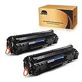 JARBO CF279A Toner Compatibile per HP 79A (CF279A) per HP LaserJet Pro M12 M12a M12w, HP LaserJet Pro MFP M26a M26nw, Nero, Confezione da 2