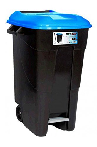 Tayg - Contenedor de residuos Eco 80 l. Azul. C/Pedal