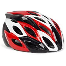 Spiuk Zirion - Casco de ciclismo, color rojo / negro / blanco, talla 53 - 61