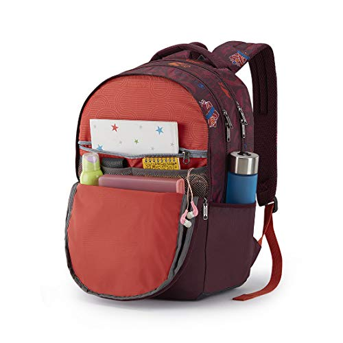 Best college bags for girl in flipkart in India 2020 American Tourister Trafford 34 Ltrs Red Casual Backpack (FR0 (0) 00 101) Image 6