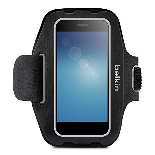 Belkin Universal Sportarmband (geeignet für Smartphones bis 5.5 Zoll) schwarz