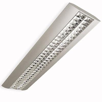 Pendelleuchte, Bürolampe, Enja, 2x 28/54W, T5, EVG, Büro Designleuchte, Deckenleuchte, Hängeleuchte - RESTPOSTEN von TEUTO LICHT auf Lampenhans.de