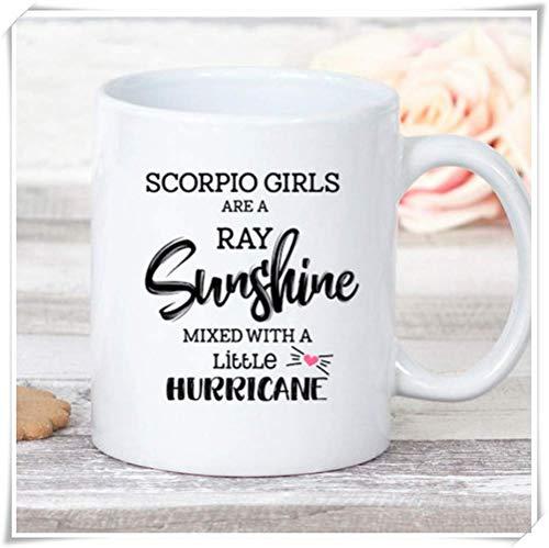 a0a60c8b1898a JOJOLASQ Funny Horoscope Coffee Mug, November Birthday Gift For Scorpio,  11oz Ceramic Coffee Mug, Unique Gift