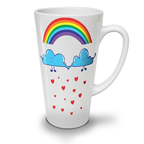 Gesicht Der Bilder Reißverschluss Kostüm (Regenbogen Liebe Regen Mode WeißTee KaffeKeramik Kaffeebecher 17 |)