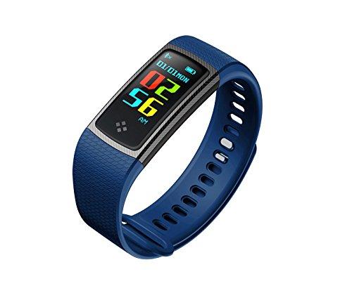 Torus Pro cardiofrequenzimetro e attività fitness tracker Watch con monitor e pressione arteriosa di ossigeno nel sangue monitor,