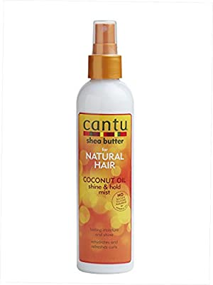 Cantu Shea Butter for Natural Hair Coconut Oil Shine & Hold Mist 237 ml by Cantu