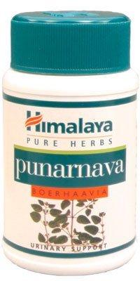 Himalaya Punarnava - Natürliche Unterstützung für gesunde Nieren- und Harnfunktion - 60 Nierenkapseln