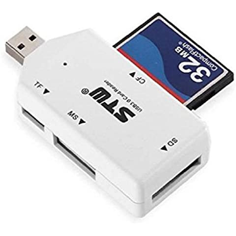 Sannysis® 5 Gbps USB 3.0 Todo Memoria Flash Adaptador del lector de tarjetas