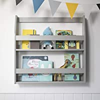 Noa and Nani - Display Wall Mounted Shelf and Bookcase - (Silk Grey)