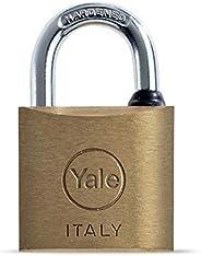 Yale 15-0110-7037-00-0201 110 Series Brass Padlock 70MM Brass