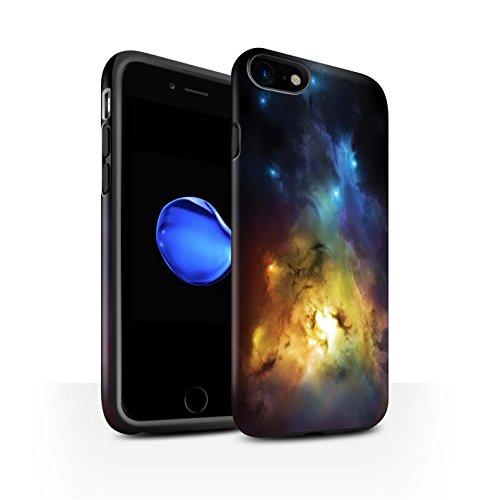 Offiziell Chris Cold Hülle / Matte Harten Stoßfest Case für Apple iPhone 7 / Schmelzen Sonne Muster / Fremden Welt Kosmos Kollektion Arcularius Nebel