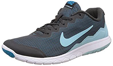 Nike Women's Flex Experience Rn 4 Anthracite, Cobalt, Blue Lagoon and White Running Shoes - 8 UK/India (42.5 EU)(9 US)