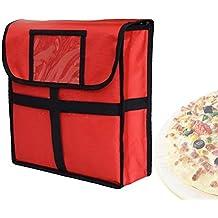 Queta isolierte Lebensmittel-Versandtaschen, 27,9 cm, wasserdicht,  Restaurant-Versandtaschen c1aa3f8354
