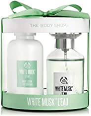 The Body Shop White Musk L'Eau EDT Gift Set - with the fragrance of pear with the original White Musk blen