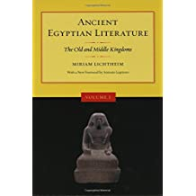 Ancient Egyptian Literature V 1 – The Old and Middle Kingdoms Revised edition