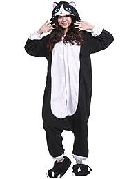 palmfox 2018 mode tier pyjama kostum karton tierkostume jumpsuit erwachsene schlafanzug