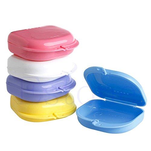 Zhoujinf-Neu Dental Kieferorthopädische Retainer Prothese Aufbewahrungskoffer Box Mundschutz Container