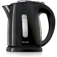 Philips HD4646/20  Serie Wasserkocher (1,5 Liter, 2400 Watt, Anti-Kalk), Schwarz/Silber