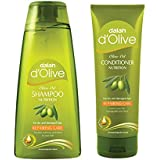 Dalan d'Olive Combo - Repair Care Shampoo (400 ml) & Conditioner (200 ml)