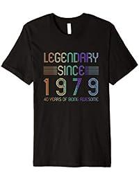 40ter Geburtstag Shirt - Legendär Seit 1979