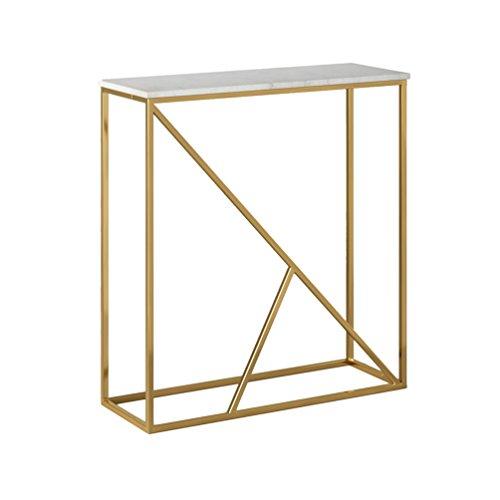 LXYFMS Nordic Marmor Veranda Tisch Einfache Wand Beiste… | 06927533027134