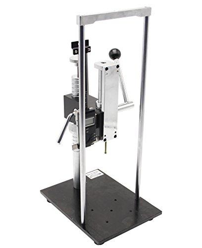 Neue Hand drücken Manuelle Test Ständer für Anlog und Digital Force Push Pull Gauge 500N/50kg, Zugstangen