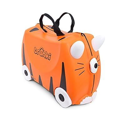 Trunki Children's Ride-On Suitcase: Tipu Tiger (Orange)
