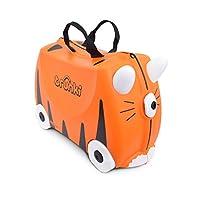 Trunki est une valise astucieuse conçue pour les globe-trotteurs en herbe dès 3 ans. Les grosses roues permettent à l'enfant de l'utiliser comme porteur. Grâce aux 2 poignées en forme de corne, il pourra s'agripper et diriger la valise à son aise. Di...