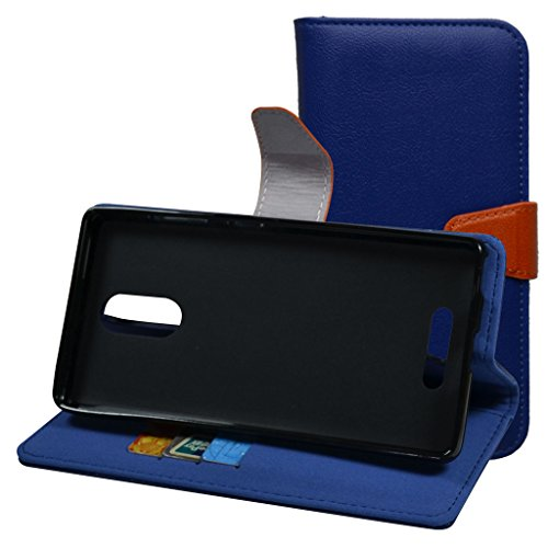 blu-vivo-5r-casemama-mouth-stand-view-premium-pu-leather-wallet-case-with-card-slots-and-inner-pocke