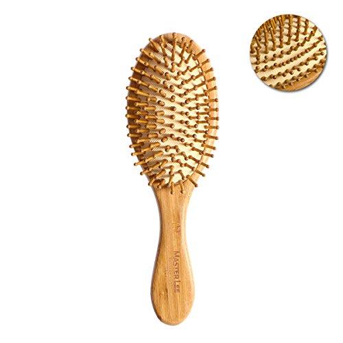 ROSENICE Cepillo pelo natural bambú peine