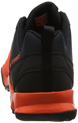 adidas Terrex Ax2R, Scarpe da Trail Running Uomo Rosso (Energy/energy/core Black)