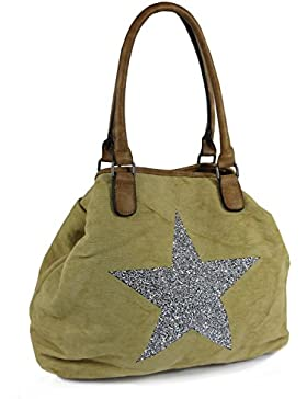 Große Sterne Handtasche Beutelta