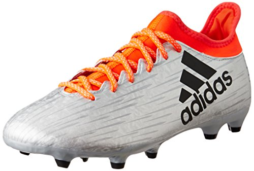 adidas X 16.3 Fg, Chaussures de Foot Homme Plata (Plamet / Negbas / Rojsol)