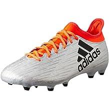 the latest 2eba7 115a8 adidas X 16.3 FG, Botas de fútbol para Hombre, Plata (Plamet Negbas
